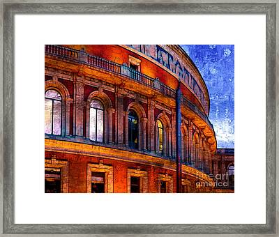 Royal Albert Hall, London Framed Print