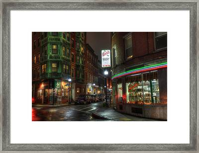 Prince And Salem - North End Boston Framed Print