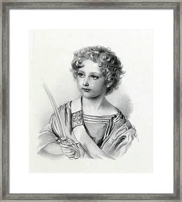 Prince Arthur William Patrick Framed Print
