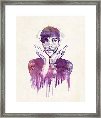 Prince Framed Print by - BaluX -