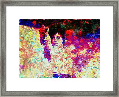 Prince Framed Print by Brian Reaves