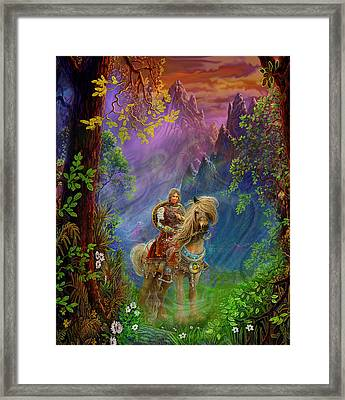 Prince Charming Framed Print by Steve Roberts