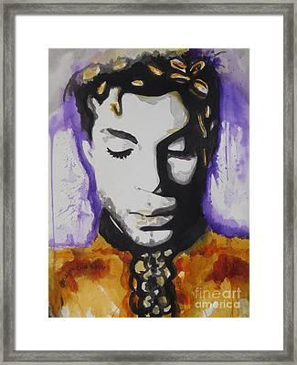 Prince Framed Print by Chrisann Ellis