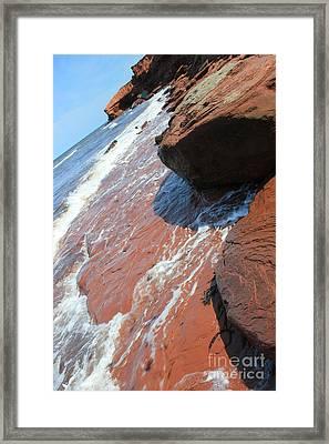 Prince Edward Island Ocean Shore Framed Print
