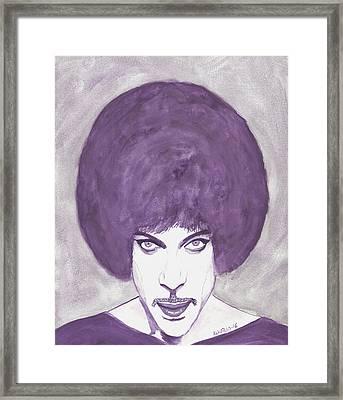 Prince Framed Print by Edwin Alverio