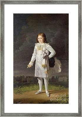 Prince Frederic Framed Print by MotionAge Designs