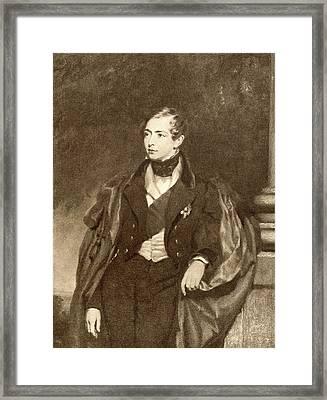 Prince George, Duke Of Framed Print by Vintage Design Pics