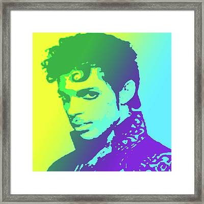 Prince Framed Print by Greg Joens