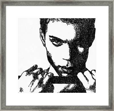 Prince Framed Print by KM Paintings