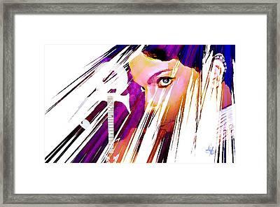 Prince Framed Print by Lynda Payton