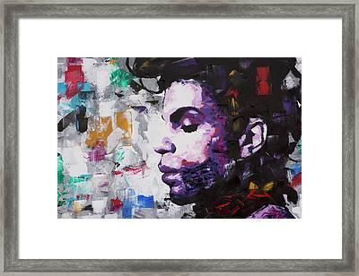 Prince Musician II Framed Print