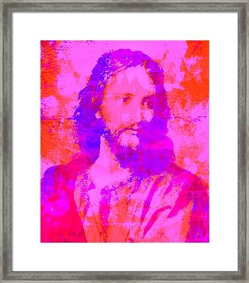 Prince Of Peace Framed Print by Brian Broadway