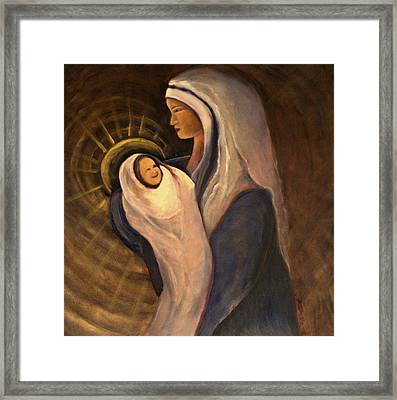 Prince Of Peace Framed Print by Wendie Thompson