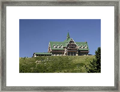 Prince Of Wales Hotel Framed Print