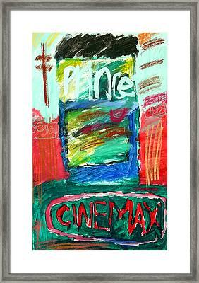 Prince Pasta Framed Print by Andrew Hagopian