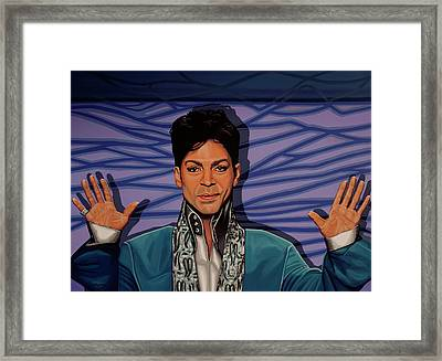 Prince 2 Framed Print by Paul Meijering