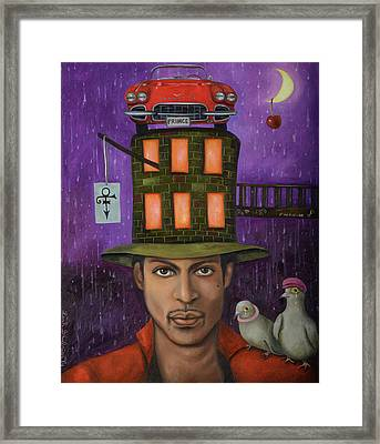 Prince Pro Image Framed Print by Leah Saulnier The Painting Maniac