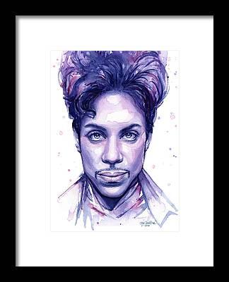 Prince Framed Prints