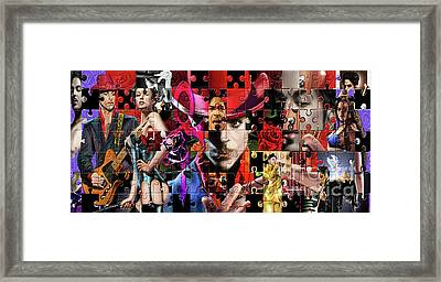 Prince Puzzle Of Missing Pieces 1 Framed Print by Reggie Duffie