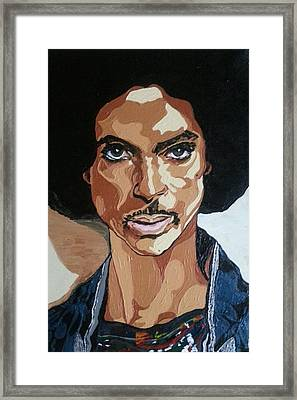 Prince Rogers Nelson Framed Print