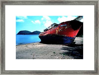 Prince Rupert Bay Framed Print by Thomas R Fletcher