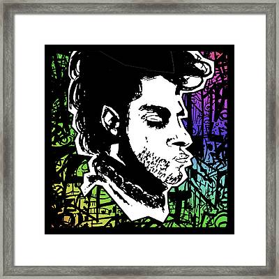Prince Tribute Framed Print