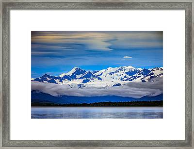 Prince William Sound, Alaska Framed Print by Rick Berk