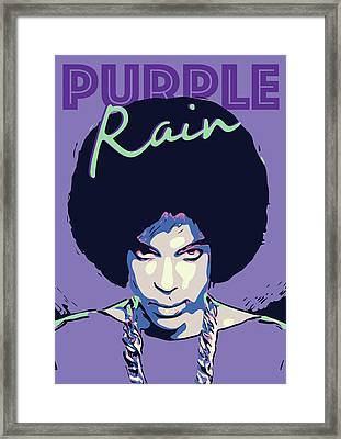 Prince Framed Print by Greatom London