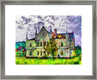 Princely Palace Framed Print by Jeff Kolker