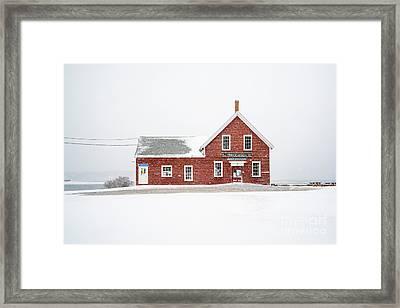 Princes In The Snow Framed Print by Benjamin Williamson
