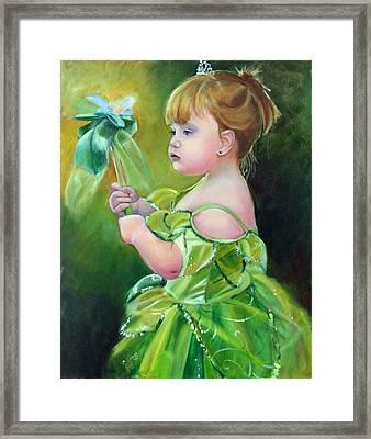 Princess Addie Framed Print