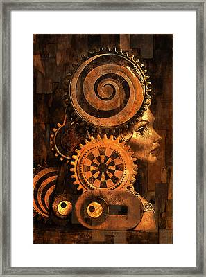 Princess And Contraption 1 Framed Print