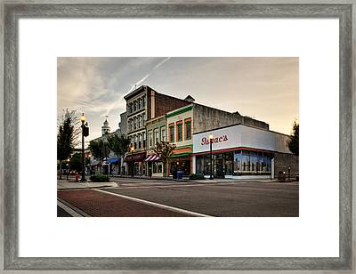 Princess And Front Framed Print