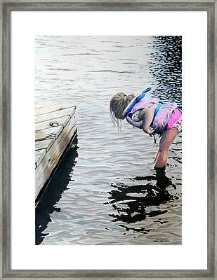 Princess And The Frog Framed Print by Duncan  Way