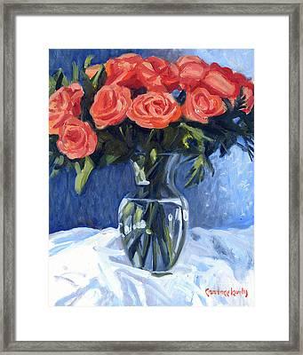Princess Bouquet Framed Print