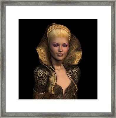 Princess Christina Framed Print by David Griffith