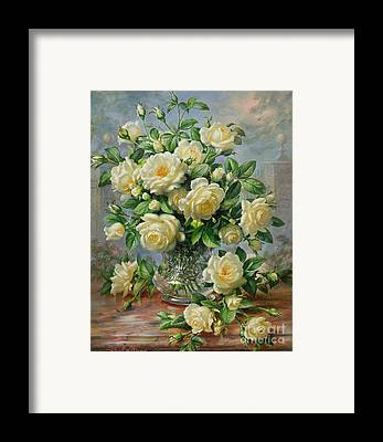 Vase Of Flowers Paintings Framed Prints