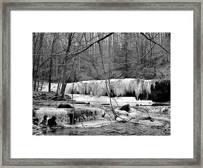 Princess Falls Framed Print