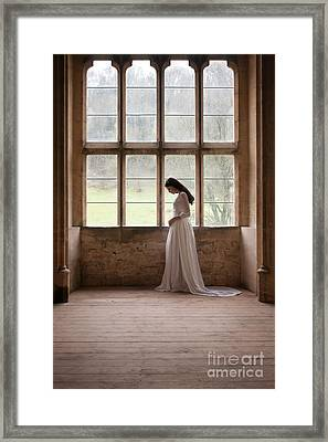 Princess In The Castle Framed Print
