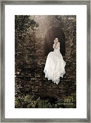Princess In The Tower Framed Print
