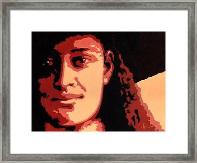 Princess Kaiulani Framed Print by Angela Treat Lyon