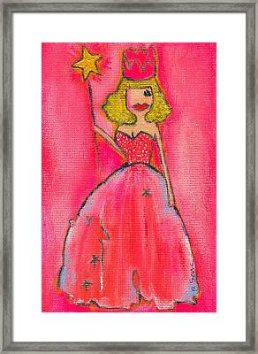 Princess Lepore Framed Print by Ricky Sencion