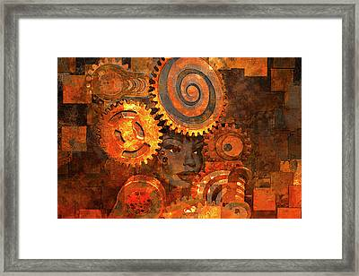 Princess Of The Sun Framed Print by Jeff  Gettis