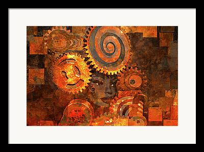 Abstract Style Photographs Framed Prints