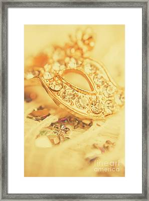 Princess Pendant Framed Print