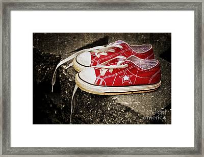 Princess Shoes Framed Print by Scott Pellegrin