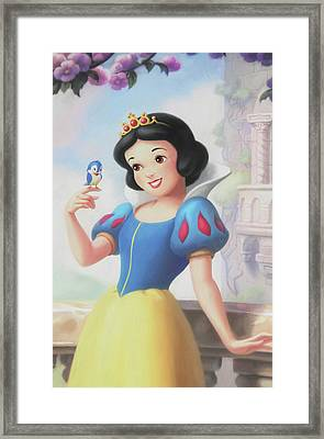 Princess Snow White Framed Print by The Art Of Marilyn Ridoutt-Greene