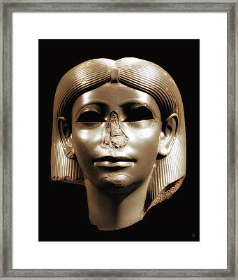 Princess Sphinx Framed Print