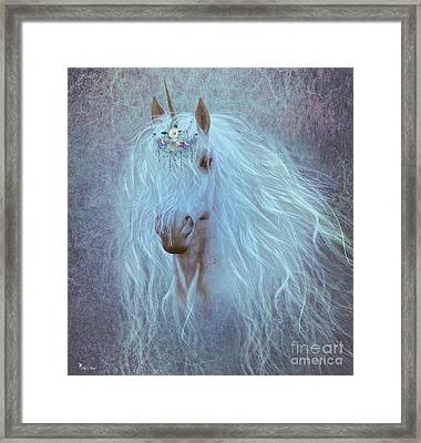 Princess Unicorn Framed Print