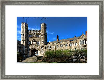 Princeton University Buyers Hall  Framed Print by Olivier Le Queinec
